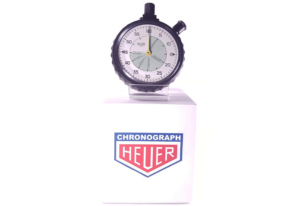 Stopwatch HEUER ref. 502.907 (allsports) --- wide shot--- ikonicstopwatch.com --- web version