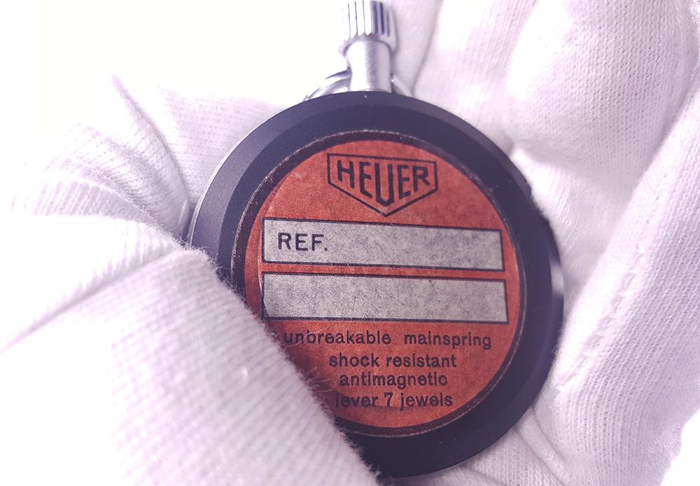 Stopwatch HEUER ref. 503.202 - JS version --- back --- ikonicstopwatch.com --- web version
