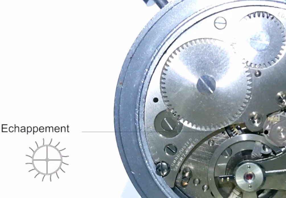 Stopwatch HEUER decimal minute presentation movie-- ikonicstopwatch.com ---