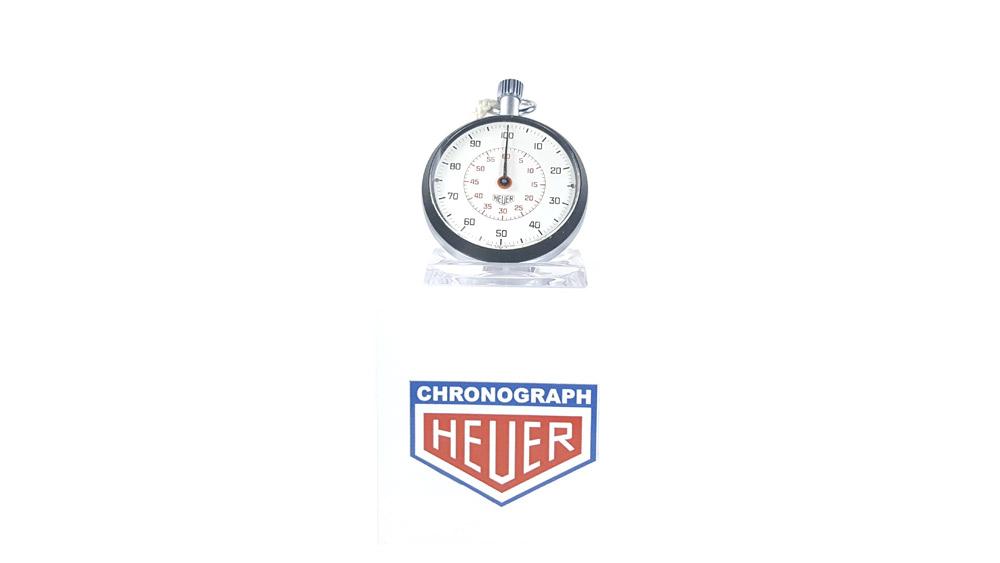 Stopwatch HEUER-LEONIDAS ref. 503.213 --- wide shot --- ikonicstopwatch.com