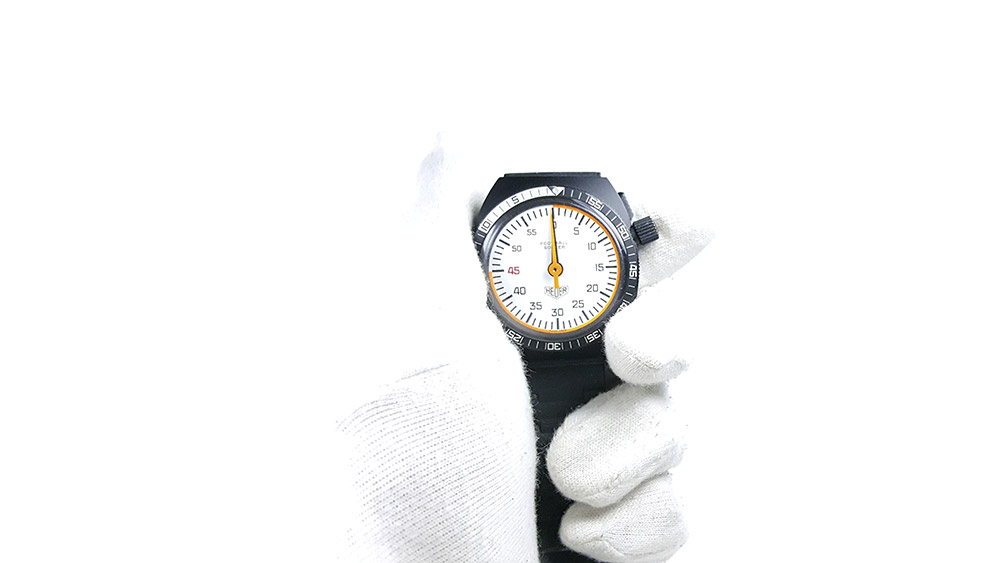 Stopwatch 203.507 (soccer) --- close shot hand held --- ikonicstopwatch.com