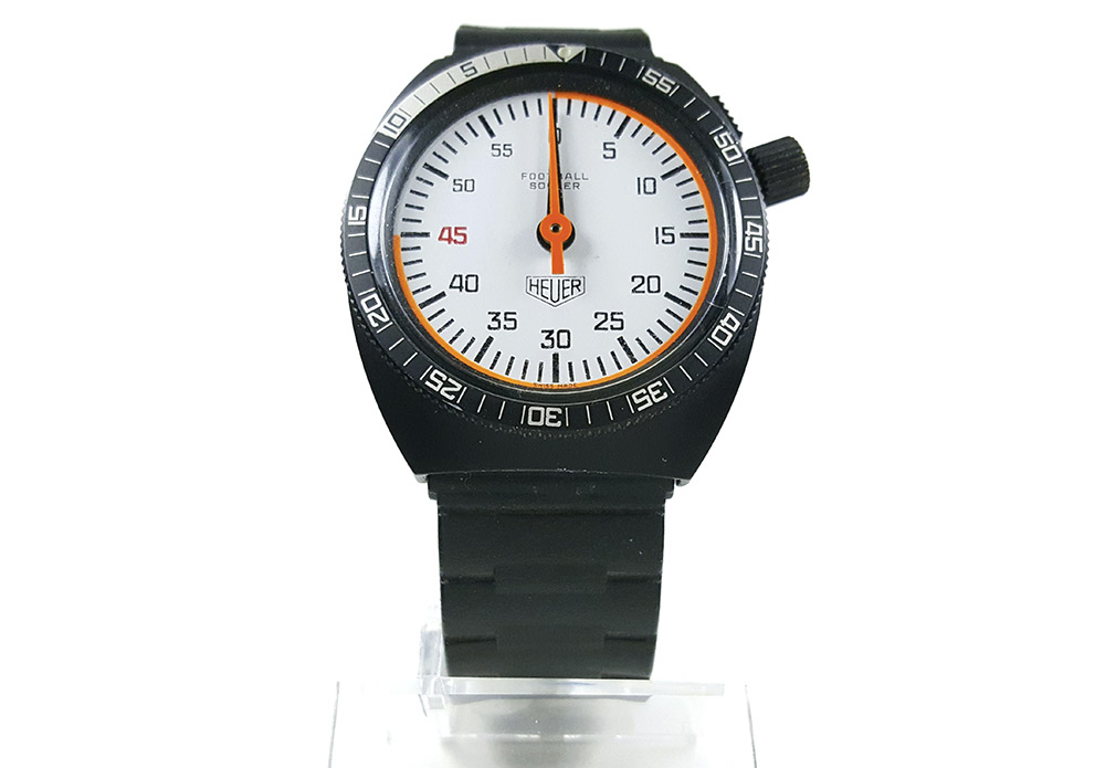 Stopwatch 203.507 (soccer) --- close-up shot (cover) --- ikonicstopwatch.com