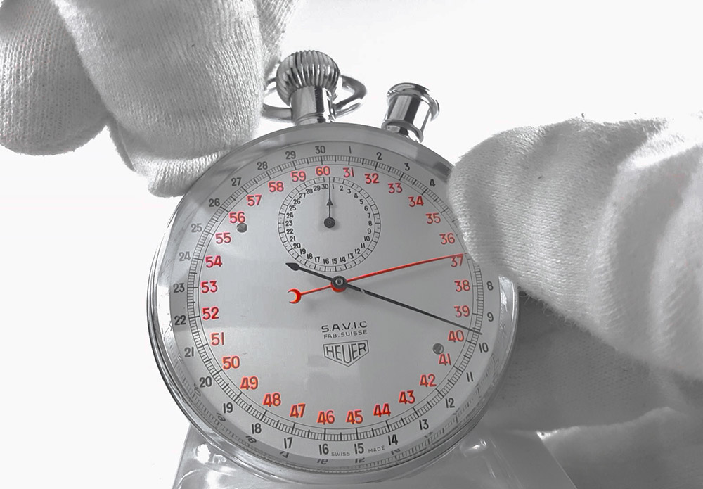 split-time (rattrapante) complication --- ikonicstopwatch.com