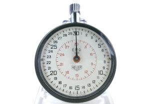 Stopwatch HEUER ref. 503.202 (EMD version) --- close-up shot (cover) --- ikonicstopwatch.com
