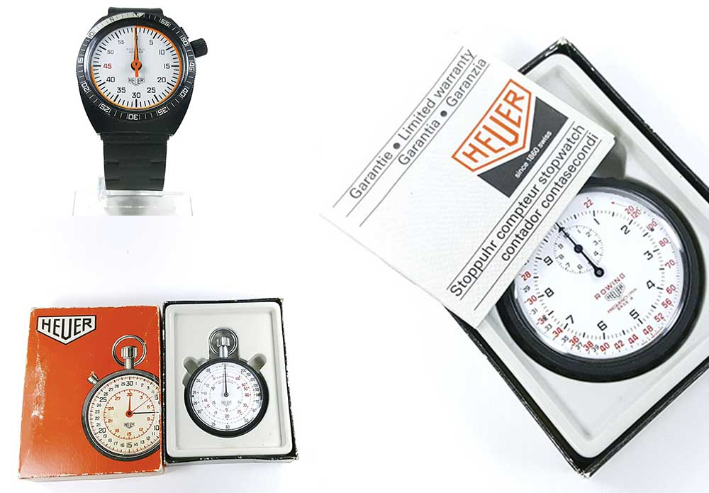 what is the price of a vintage HEUER stopwatch