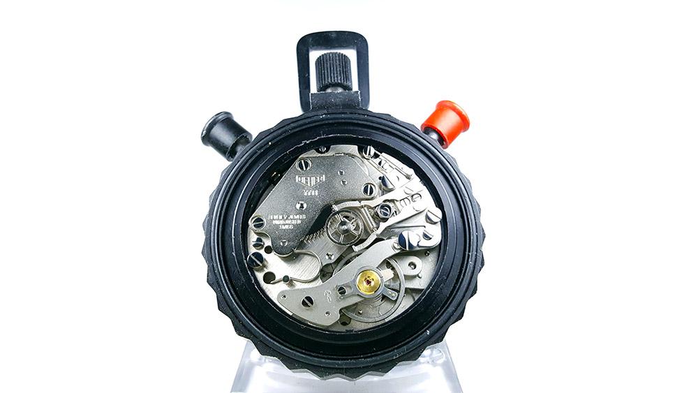 Stopwatch HEUER-Leonidas 512.902 (rattrapante) --- caliber 7711 --- ikonicstopwatch.com