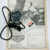 vintage ad for digital HEUER stopwatch HL530 --- for sale 3 main view with microsplit 1000 --- ikonicstopwatch.com