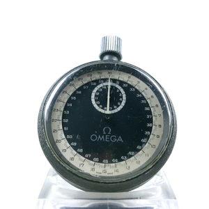 Stopwatch OMEGA mg 6306 --- close-up shot (cover) --- ikonicstopwatch.com