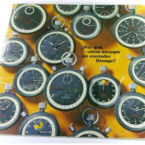 Catalogue vintage Omega --- plan large sur la couverture (photo de couverture) --- ikonicstopwatch.com