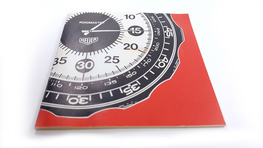 Stopwatch HEUER-Leonidas ref. 804.901 roadmaster vintage --- user guide --- ikonicstopwatch.com