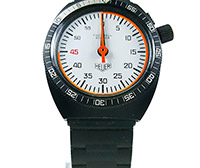 Stopwatch HEUER ref. 203.507 soccer referee --- ikonicstopwatch.com