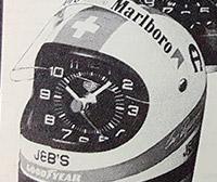 HEUER ad for helmet clock --- ikonicstopwatch.com