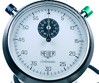 Stopwatch HEUER clubmate small--- ikonicstopwatch.com