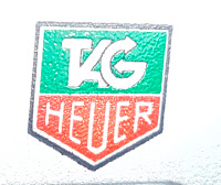 tag HEUER green and red logo --- ikonicstopwatch.com