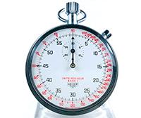 Vintage stopwatch HEUER-Leonidas ref. 408.417 (tachymeter) --- ikonicstopwatch.com