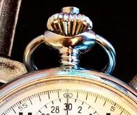 Vintage stopwatch HEUER --- triangular crown --- stopwatchtime