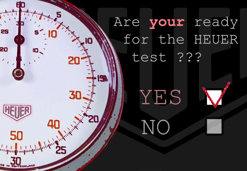 Ready for HEUER test ? --- cover shot --- ikonicstopwatch.com